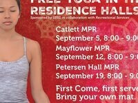 Free Yoga in Peterson Residence Hall