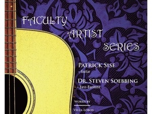 Faculty Artist Series: Sise, guitar & Soebbing, bass-baritone