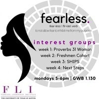 "Fearless Leadership Institute: Interest Group Week 1 - ""Proverbs 31 Woman"""