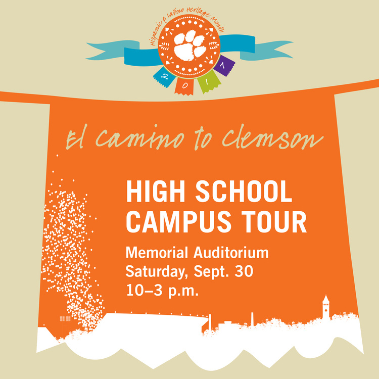 El Camino a Clemson: High School Campus Tour Visit