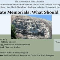 Confederate Memorials: What Should be Done?