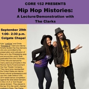 Hip-Hop Histories Presents:  A Lecture/Demonstration with the Clarks