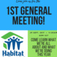Habitat for Humanity General Members Meeting