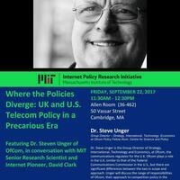 Where the Policies Diverge: UK and U.S. Telecom Policy in a Precarious Era