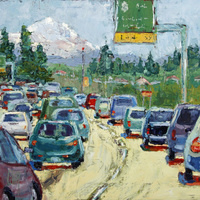 """Gallery North Hosts """"A Painted Celebration"""" Featuring Artwork by Seattle Co-Arts Members"""