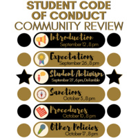 Code of Conduct Listening Session - Student Activism