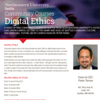 Community Courses: Digital Ethics - Course #2