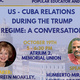 US-Cuba Relations: Grassroots Solidarity and a View From the Island