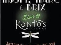 Musty, Marc & Brix - live music @ Kontos Cellars