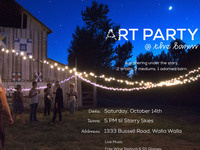 Art Party @ the Barn