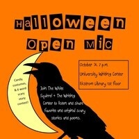 Halloween Scary Stories Open Mic