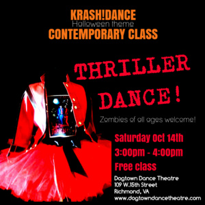 Halloween Contemporary Class with KrasH!Dance