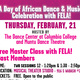 West African Dance classes with cast members from FELA!