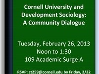 Black History Month - Cornell University and Development Sociology: A Community Dialogue