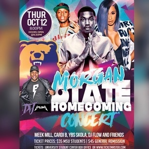 Morgan State University Homecoming Concert 2017