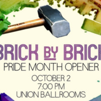 Pride Student Union October GBM Brick by Brick