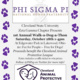 Phi Sigma Pi National Honors Fraternity's 1st Annual Walk-a-Dog-a-Thon