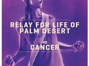 American Cancer Society Relay For Life Palm Desert Fundraiser 2017