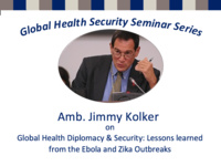 Global Health Diplomacy & Security: Lessons learned from the Ebola and Zika Outbreaks