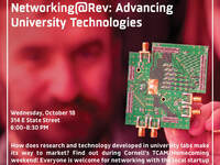Networking@Rev: Advancing University Technologies (TCAM/Homecoming)