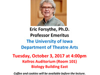 """Emeritus Faculty Lecture: """"Directing Comedy in Unfunny Times"""""""