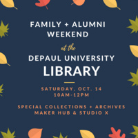 Family & Alumni Weekend at the DePaul University Library