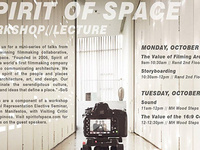 Spirit of Space: Filming Architecture