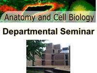 Anatomy and Cell Biology Departmental Seminar