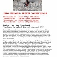 Mexico Spring 2018 Travel Course Info Session