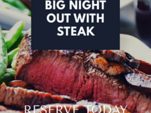 Noble Fin Big Night Out With Steak