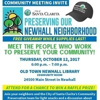 Newhall: Community Preservation Public Meeting