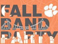 Clemson Fall Band Party