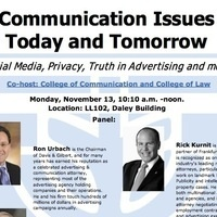 Communication Issues Today and Tomorrow