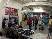 "URI Art Gallery: ""Providence Under Pressure"" - Yarrow Thorne and the 'Avenue Concept' Graffiti Street Artist works."