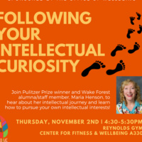 """Following Your Intellectual Curiosity"" Workshop"