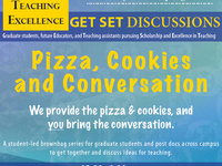 Pizza, Cookies, and Conversation: Inclusive Classrooms: Making Your Teaching Accessible to All (for Grad Students, TAs, and Future Educators)