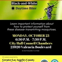 Public Info Session: Aedes mosquito