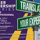 Career Leadership Series - Translating Your Experience