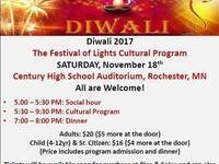 Diwali (Festival of Lights) Cultural Program
