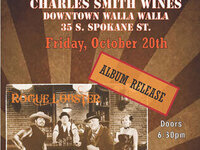 Rogue Lobster Album Release @ Charles Smith Winery