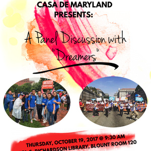 "CASA of Maryland: Panel Discussion with ""Dreamers"""