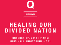 Q Union Video Conference: Healing Our Divided Nation with David Brooks, Propaganda & Kara Powell
