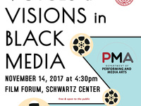 Voices & Visions in Black Media: TreaAndrea Russworm (University of Massachusetts–Amherst)