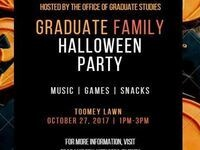Graduate Family Halloween Party