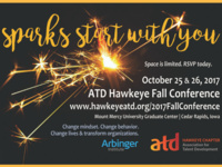 Sparks Start With You 2017 Association for Talent Development Conference