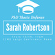 PhD defense: Sarah Robertson