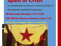 Spain in Crisis: A roundtable on recent developments in the Spanish political landscape