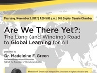 Commitment to Internationalization Lecture Series: Madeleine Green