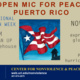Open Mic for Peace: Puerto Rico