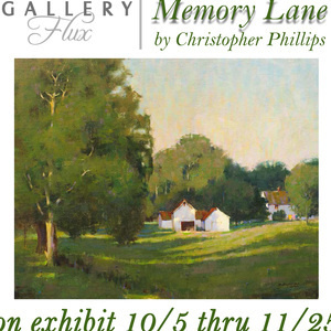 'Memory Lane' | Paintings by Christopher S Phillips